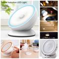Portable mini LED sound induction chargeable night emergency light sleep lamp