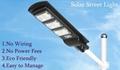 High capacity Battery Solar Cell LED street Light GL202