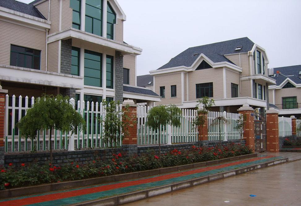 上海高档别墅围栏网 1