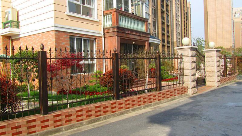 上海高档别墅围栏网 2