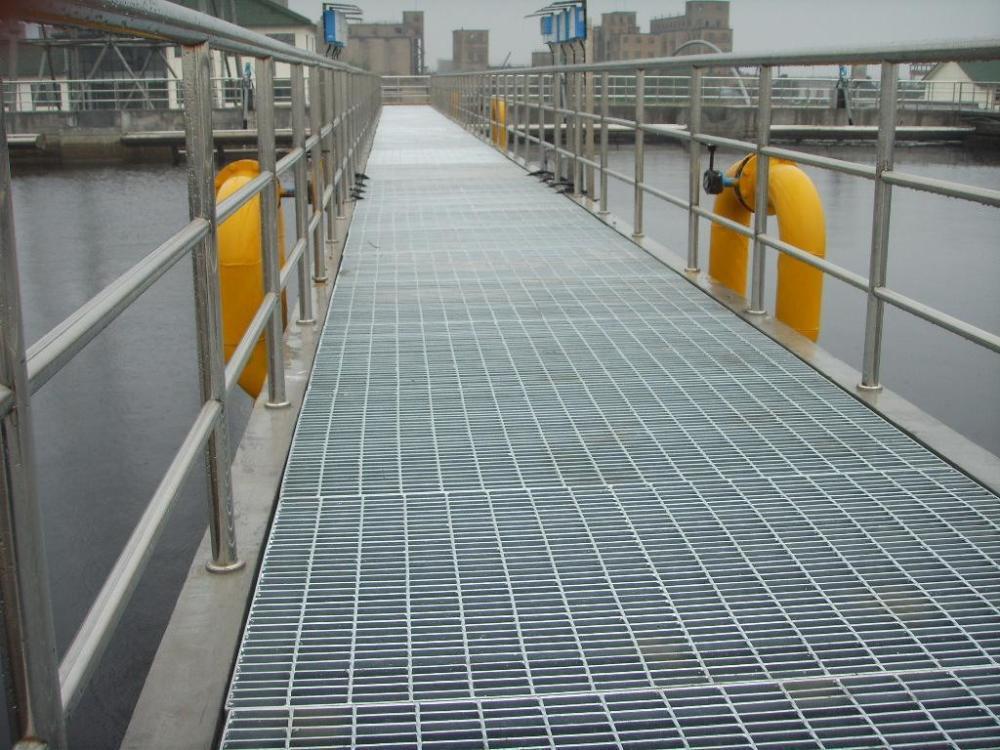 上海熱鍍鋅鋼格柵 2