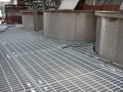 上海平台钢格栅 1