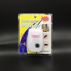 超声波驱虫器电子驱鼠器外贸驱蚊器害虫驱赶器深圳厂家批发OEM