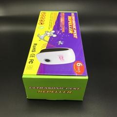 驅鼠器超聲波驅蚊器電子驅虫器亞馬遜害虫驅趕器6個裝彩盒