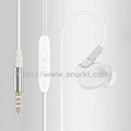 Sport Hands free Stereo Wired Earphones with Microphone and Volume Control