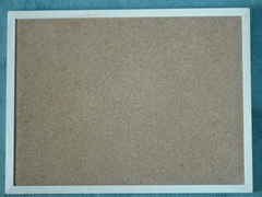 wooded frame cork board 45*60cm