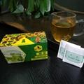 Cheap wholesale pouch packed broken green tea teabag