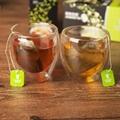 Merlin bird broken black tea and green tea sachet for sale