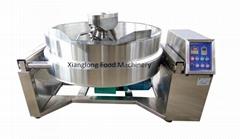 Hydraulic planetary stirring pot