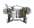 Manual tiltable pressure boiler