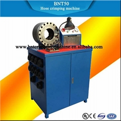 BARNETT BNT50 2 inch high pressure hydraulic rubber hose crimping machine