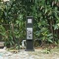指印工業防水插座柱智能水電樁 房車營地遊艇碼頭岸電箱 3