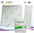 Absorbent medical disposable underpad
