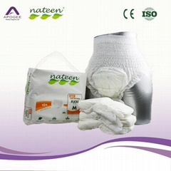 Nateen brand adult pants diaper with