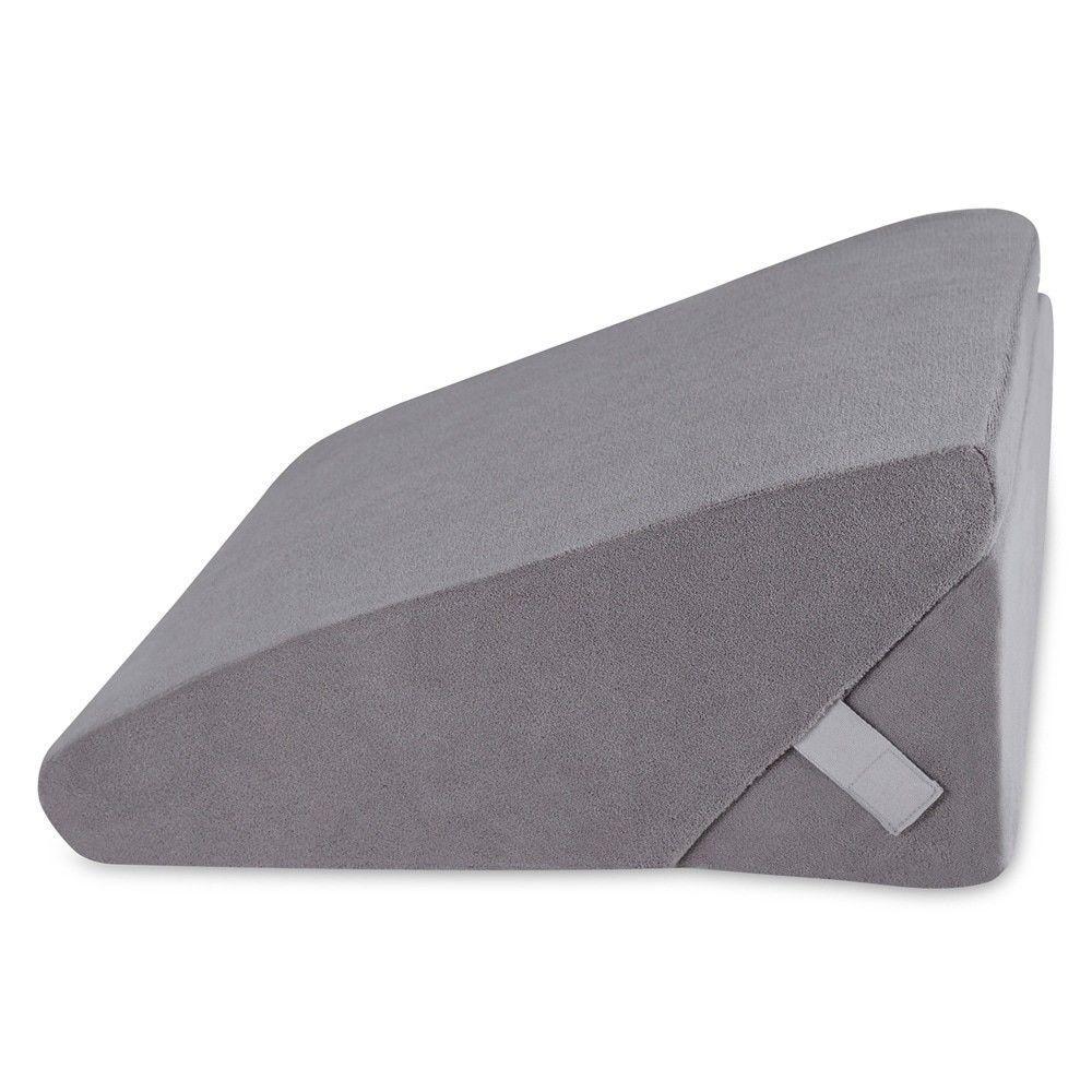 Sleeplanner Multipurpose Memory Foam Mattress Wedge Pillow 2