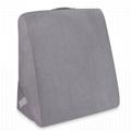 Sleeplanner Multipurpose Memory Foam Mattress Wedge Pillow 3