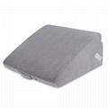 Sleeplanner Multipurpose Memory Foam Mattress Wedge Pillow 4