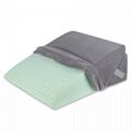 Sleeplanner Multipurpose Memory Foam Mattress Wedge Pillow 5
