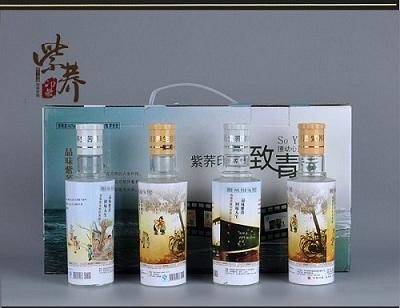 健康養生白酒紫蕎印象富硒苦蕎酒致青春 1