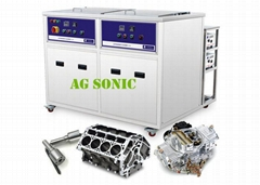 AG SONIC dual tank ultrasonic cleaner