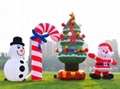 Inflatable Christmas Arch/ Inflatable Socks Arch/Inflatable candy arch for the C 5