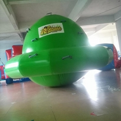 Summer hot sale inflatable water floating gyro for Water amusement equipment