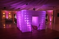 Led portable inflatable photo booth tent inflatable cube for advertising wedding 4