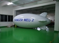 8m inflatable helium blimp balloon inflatable airplane for sale design 5