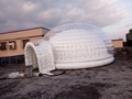 High quality inflatable dome tent with bubble tent for the outdoor 2