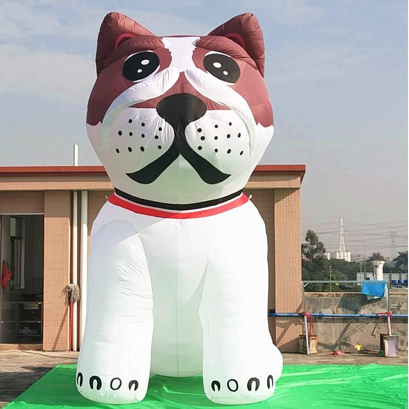 Giant inflatable dog with custom printing logo 2