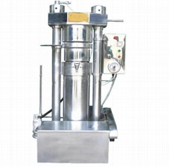 Automatic hydraulic olive cold press oil machine