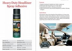 Heavy duty headliner spray adhesive