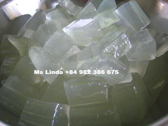 Pure Nature DICED ALOE VERA fresh extract (Linda Whatsapp +84 982 386 675) 1