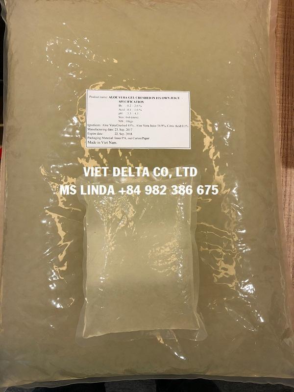 Pure Nature DICED ALOE VERA fresh extract (Linda Whatsapp +84 982 386 675) 4