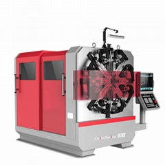 CNC Clamp Spring Making Machine CNC Wire Rotating Spring Forming Machine