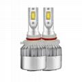 9006 LED Headlight bulbs with plug and