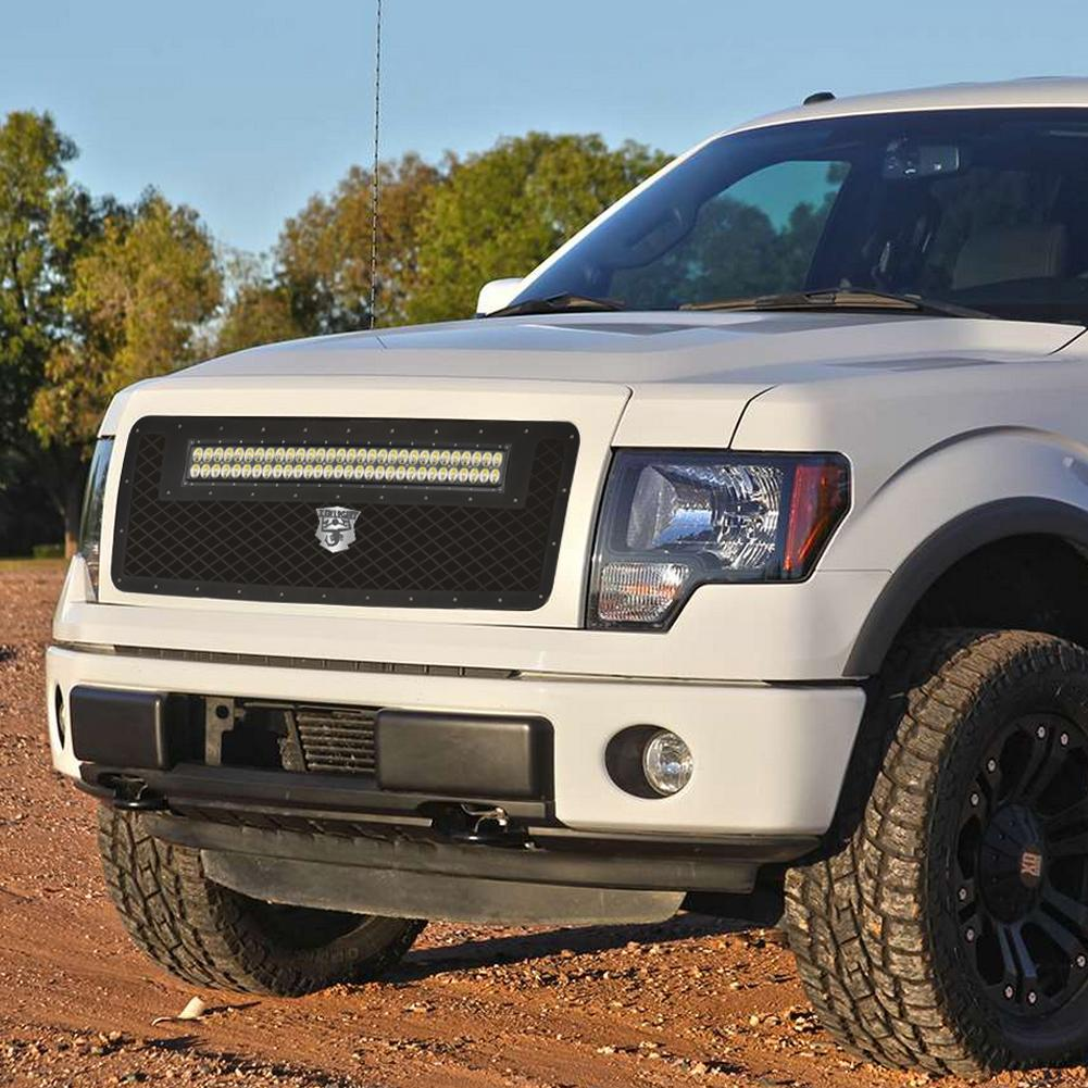 Auto LED Grilles for 2013 to 2014 Model Ford F150  4
