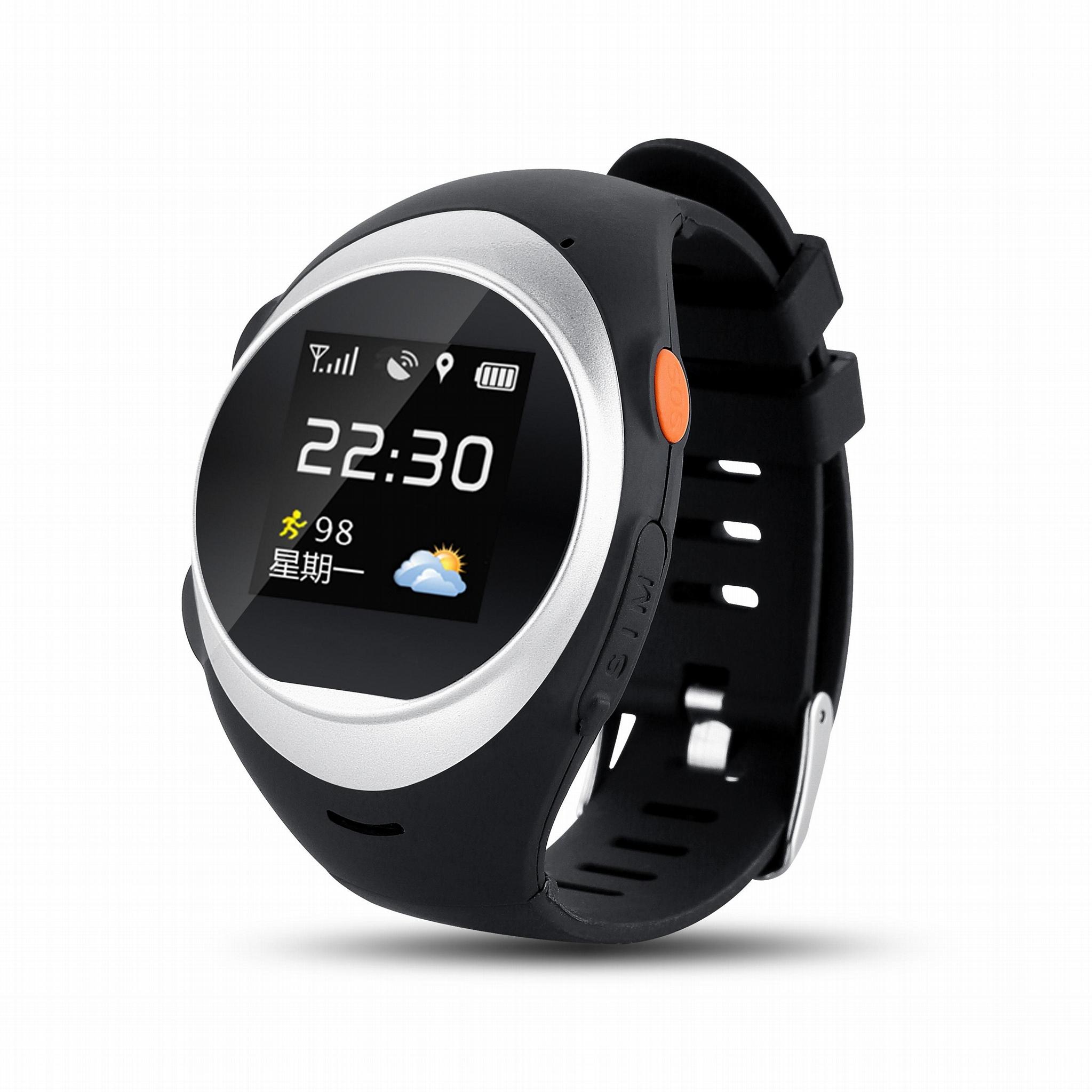 益身伴老人GPS定位手錶  3