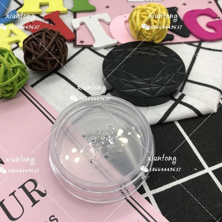散粉盒 XT4545 扁盒 粗面蓋 注塑色 硅膠墊片 彩妝包材 2