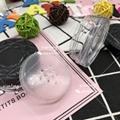 散粉盒 XT4545 扁盒 粗面蓋 注塑色 硅膠墊片 彩妝包材 3