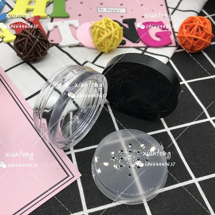 散粉盒 XT4545 扁盒 粗面蓋 注塑色 硅膠墊片 彩妝包材 4