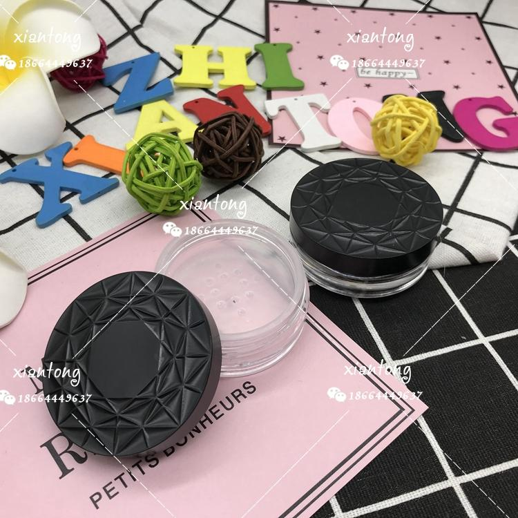 散粉盒 XT4545 扁盒 粗面蓋 注塑色 硅膠墊片 彩妝包材 5