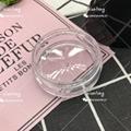 散粉盒 XT4646 扁盒 光滑面蓋 注塑色 硅膠墊片 彩妝包材 舉報 2