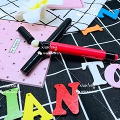 唇彩管 XT4065 气垫唇彩笔 按压 进口棉头 注塑色彩妆包材