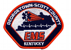 EMS  Customed embroidered patches and badge