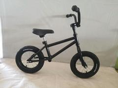 Balance bike with double frame
