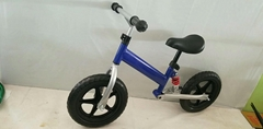 Balance bike with damping