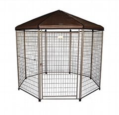 outdoor gazebo dog kennel