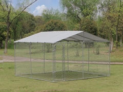 13*13*6ft chain link dog kennel