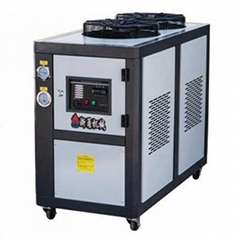Ce certification high performance 8hp industrial copeland compress water chiller
